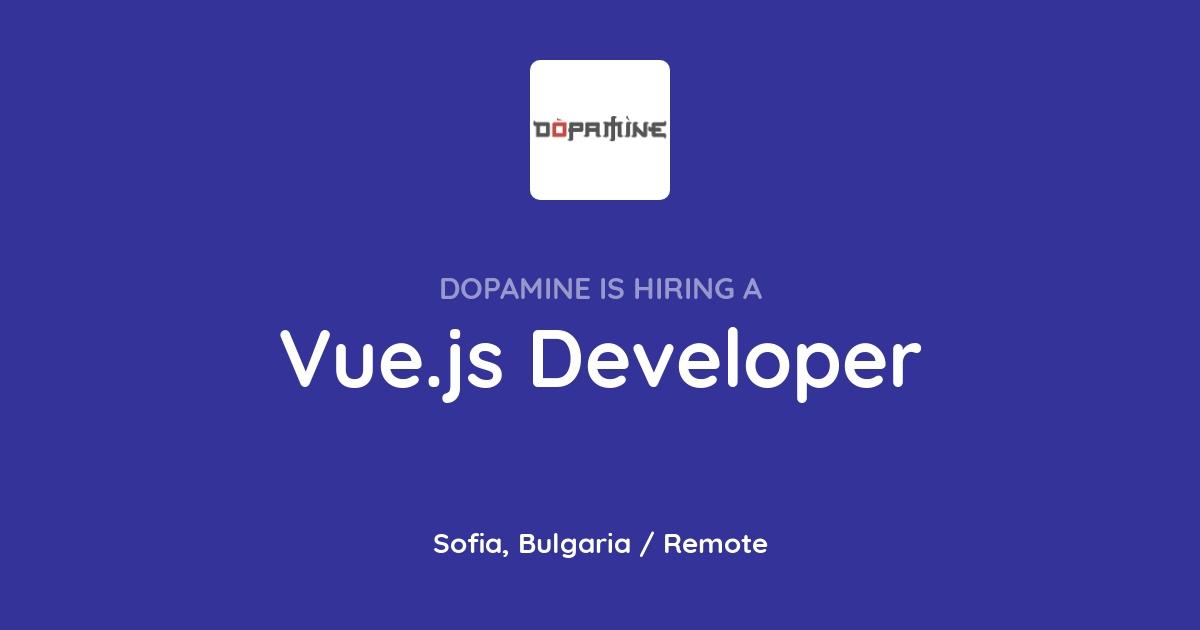 Vue js Developer at Dopamine - Joblist app